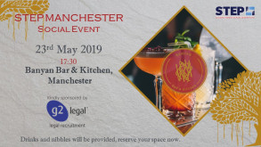 G2 Legal Sponsors STEP Manchester Social Event  -23rd May 2019